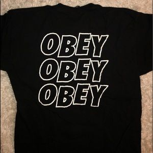 men's obey shirt